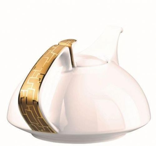 Rosenthal Studio Line Tac Skin Gold Tea Pot